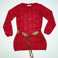 Вязаный свитерок для девочки на 11-12 лет, фото 1