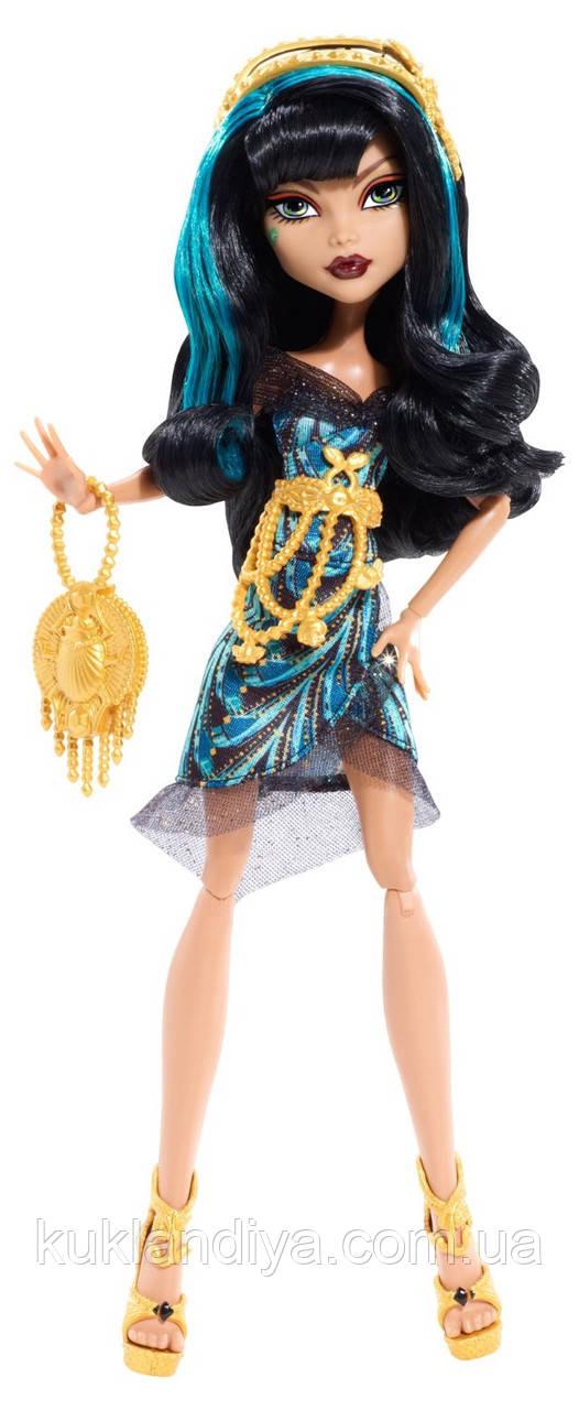 Кукла Monster High Клео де Нил Камера Мото - Frights Camera Action, Black Carpet Cleo de Nile