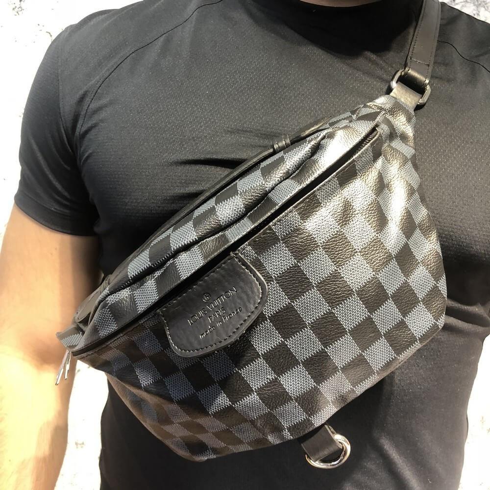 f70df987af1f Сумка На Пояс (Поясная сумка, бананка) Louis Vuitton Reporter Pm Damier  Graphite -
