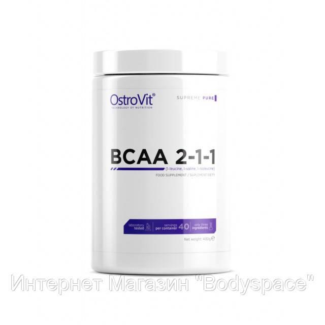 OstroVit, Бцаа Extra Pure BCAA 2.1.1, 400 грамм