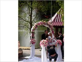 Венчальная арка на прокат