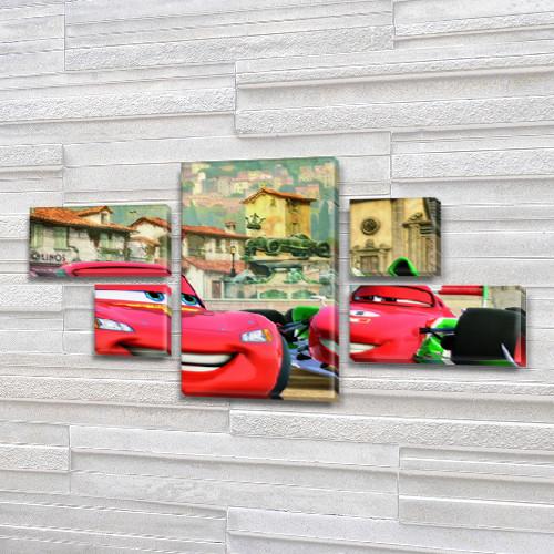 Интернет магазин картин модульных для детской, 80x140 см, (25x45-2/25х25-2/80x45)