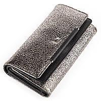 Женский кошелек Desisan 17059 кожаный Серебристый, Серый, фото 1