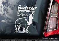 Энтлебухер зенненхунд стикер