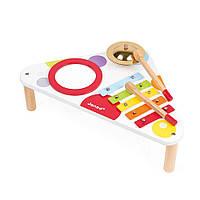 Музыкальный инструмент Janod Стол с ксилофоном (J07634)
