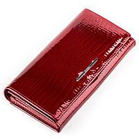 Кошелек женский BALISA 13852 кожаный Красный, Красный