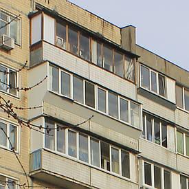Балкон под ключ за 3 — 4 дня. 96 серия дома