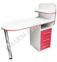 Маникюрный стол Овал