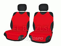 Чехлы майки на передние сиденье KEGEL красный