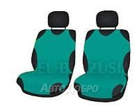 Чехлы майки на передние сиденье KEGEL зеленый