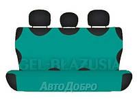 Чехлы майки на задние сиденье KEGEL зеленый