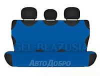 Чехлы майки на задние сиденье KEGEL голубой