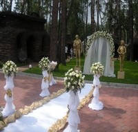 Оформление свадьбы и церемоний