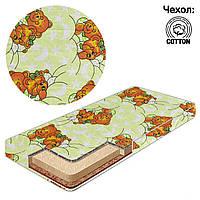 Матрас детский в кроватку кокос - поролон - гречка - хлопок - Сладкий сон, Салатовый, 15682