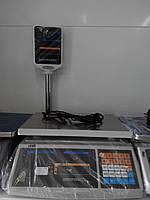 Электронные торговые весы Днепровес  на 15 кг