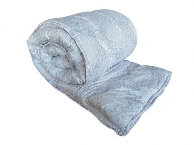 Одеяло шерстяное полуторное, микрофибра 145х210, фото 2