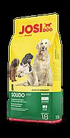 JosiDog SOLIDO 18 кг - корм премиум класса для менее активных и пожилих собак