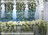 Оформление вечеринок цветами и тканями
