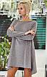 Платье туника нарядное женское с люрексом размеры:42-46, фото 3