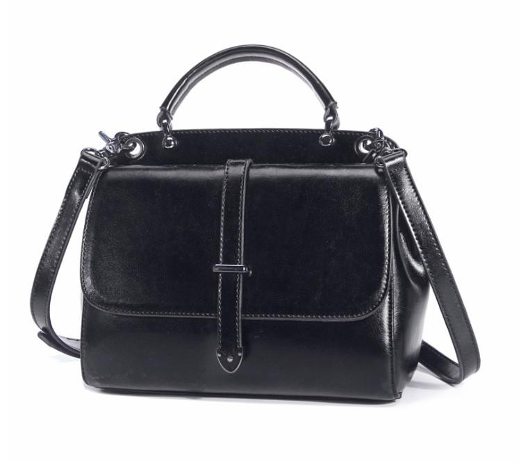 Женская повседневная кожаная сумка