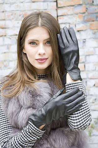 Женские кожаные перчатки 410, фото 2