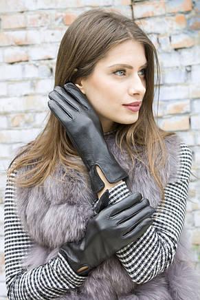 Женские кожаные перчатки 410 Маленькие, фото 2
