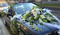 Оформление свадебной машины