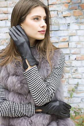 Женские кожаные перчатки 410 Средние, фото 2