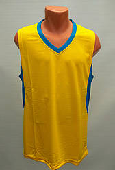 Форма баскетбольная мужская Star желто-синяя
