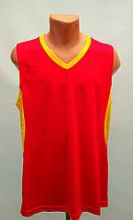 Форма баскетбольная мужская Star красно-желтый