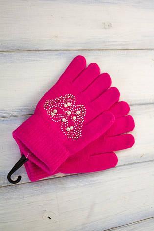 Детские вязаные перчатки, фото 2