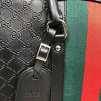 Сумка Bussines Bag Gucci GG Supreme Web 15 Black, фото 3