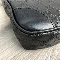 Сумка Bussines Gucci Bag GG Supreme Web 15 Black, фото 3