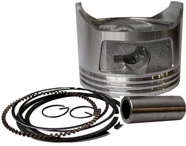 Поршень для двигателя 13л.с. с кольцами диам -87мм,выс-67мм,палец 20мм, фото 2