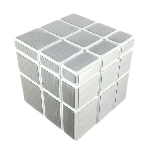 Зеркальний кубик рубика ShengShou 3x3x3 Mirror Cube, Білий пластик, в коробці
