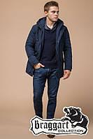 "Мужская зимняя куртка Braggart ""Dress Code"" (р. 46-56) арт. 36640J синий"