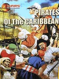 Пірати Карибського моря. Набір пластикових фігур в масштабі 1/72. MARS 72009