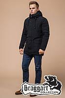 """Зимняя мужская куртка Braggart """"Dress Code"""" (р. 46-56) арт. 36640М черный"""