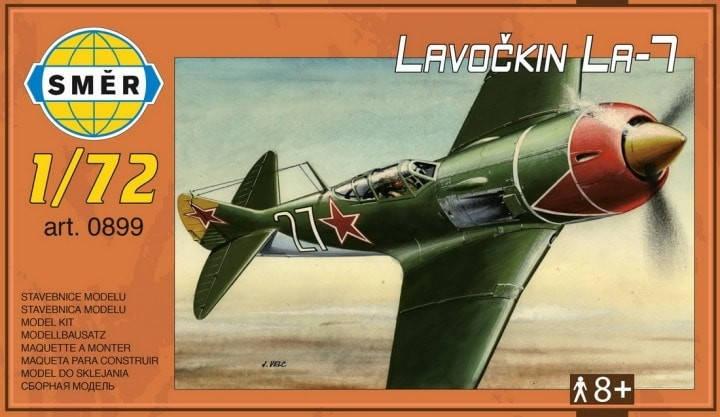 Сборная модель самолета ЛАВОЧКИН ЛА-7. 1/72 SMER 899, фото 2