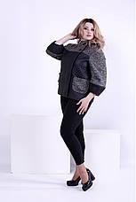 Куртка женская демисезонная очень большие размеры 42-74, фото 3