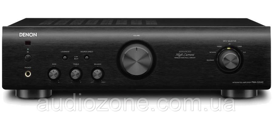 Интегральный стереоусилитель Denon PMA-520 AE Black