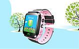 Детские смарт часы с GSM трекером Q527 с камерой и фонарём, фото 3
