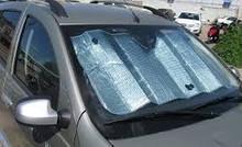 Сонцезахисна шторка на лобове скло автомобіля
