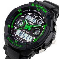 Мужские часы Skmei S-Shock Green Оригинал + Гарантия!, фото 1
