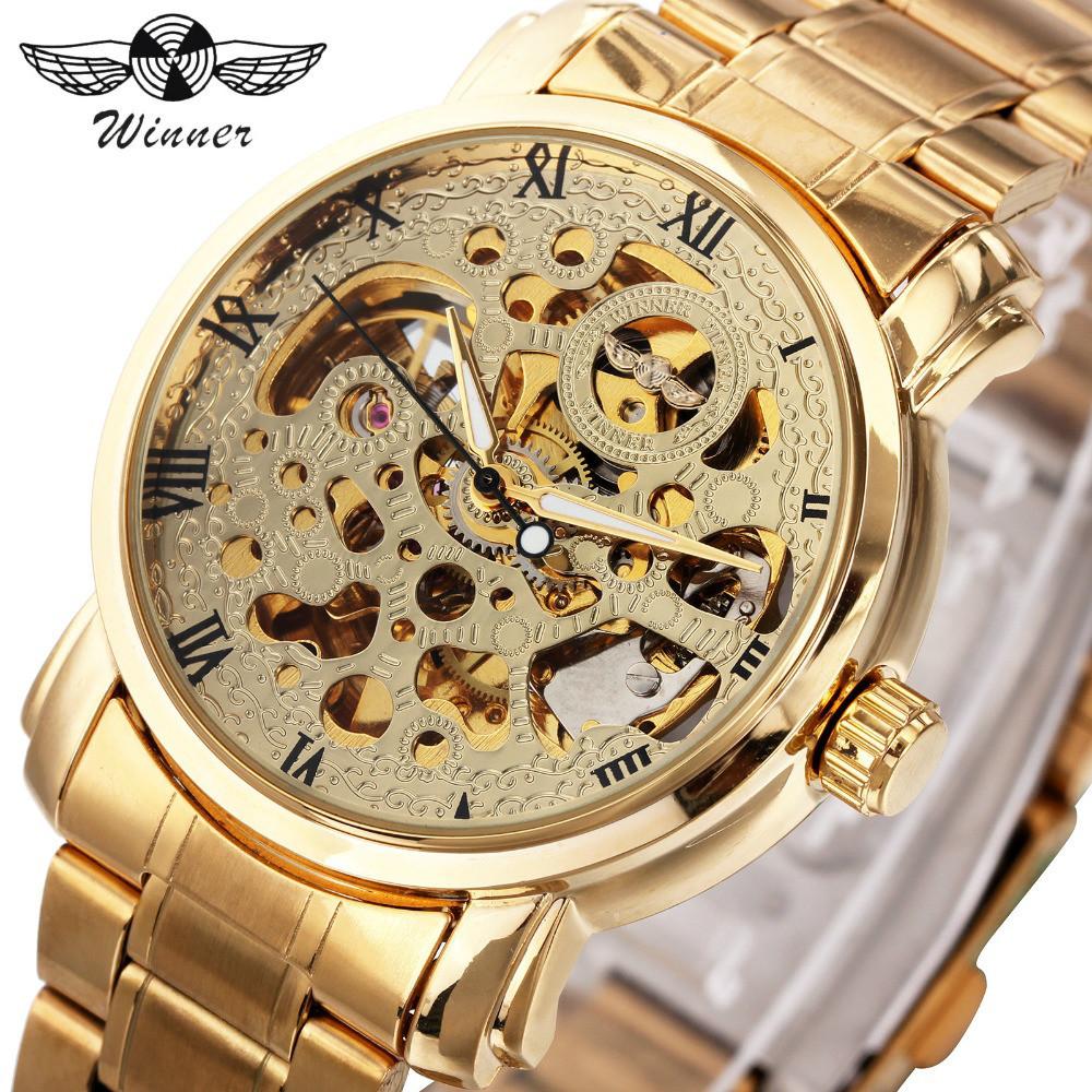 Мужские часы Winner W339 с автоподзаводом Оригинал + Гарантия!