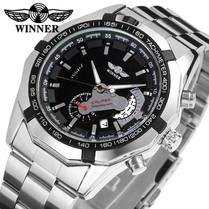 Мужские часы Winner W158 с автоподзаводом Оригинал + Гарантия!