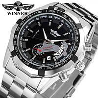 Мужские часы Winner W158 с автоподзаводом Оригинал + Гарантия!, фото 1