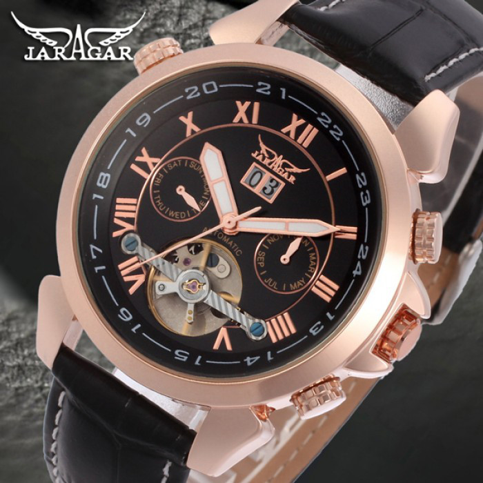 Мужские часы Jaragar Turboulion Оригинал + Гарантия!