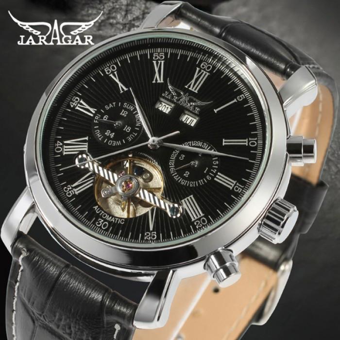 Мужские часы Jaragar Silver Star Оригинал + Гарантия!