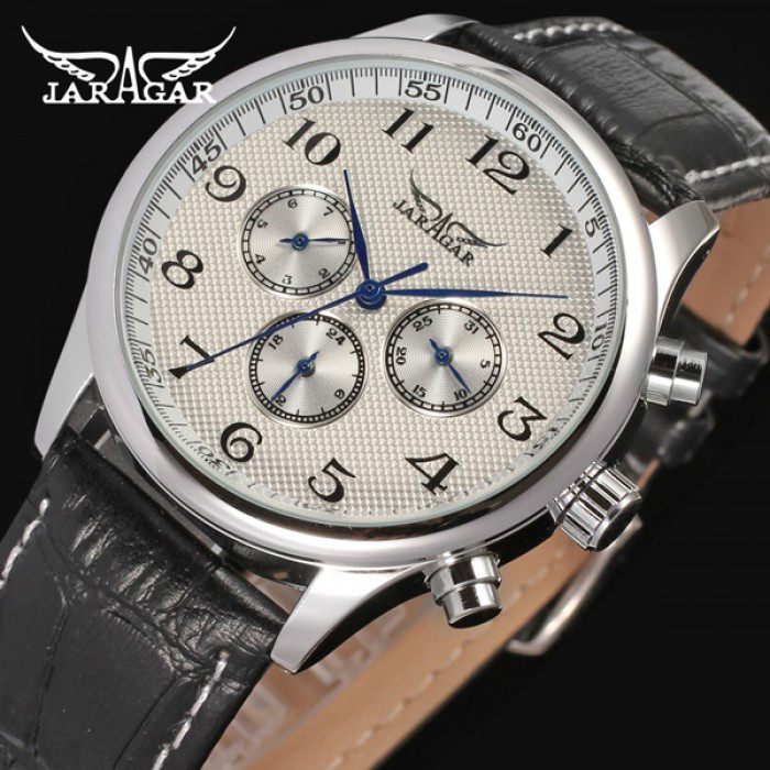 Мужские часы Jaragar Elite White Оригинал + Гарантия!
